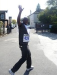 Themba sets off!