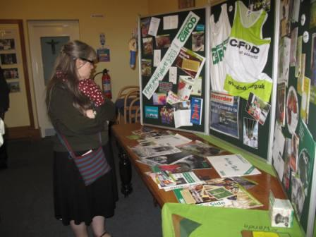 A Display of the 50 years of CAFOD's work