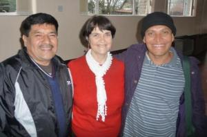 Erasmo, Eileen Webster and Fidel