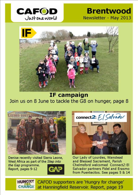 Supporters newsletterApril-May 2013 compressed