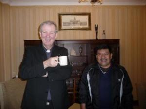 Erasmo with Fr Pat Sammon