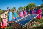 Solar panel women's group
