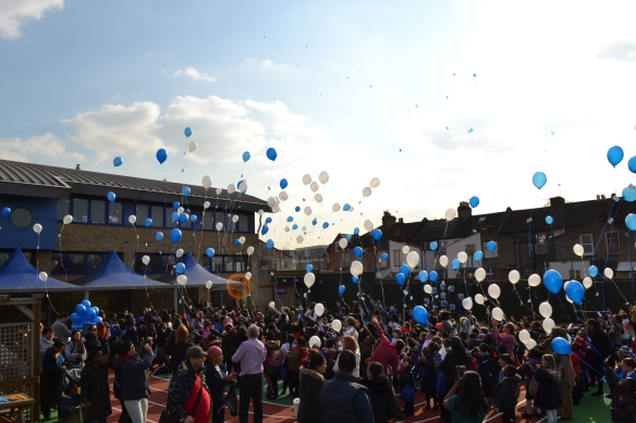 St Winefride's Great CAFOD Balloon race
